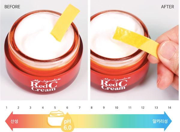 Thành phần Kem Dưỡng Trắng Da, Mờ Thâm Nám Tiam My Signature Red C Cream 50g