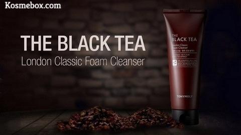 Sữa Rữa Mặt Trà ĐenTonymolyThe Black Tea London Classic Foam Cleanser 150ml