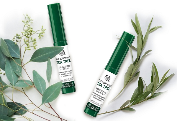 Gel Trị Thâm Mụn The Body Shop Tea Tree Targeted Gel