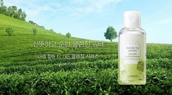 Thành phần Nước Tẩy Trang Mắt Môi The SAEM Healing Tea Garden Green Tea Lip & Eye Remover 150ml