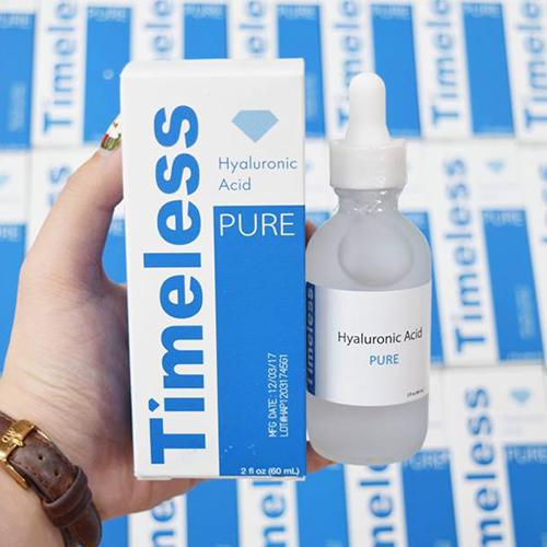 Serum Cấp Nước Tối Ưu Cho Da Timeless Hyaluronic Acid Pure 60ml