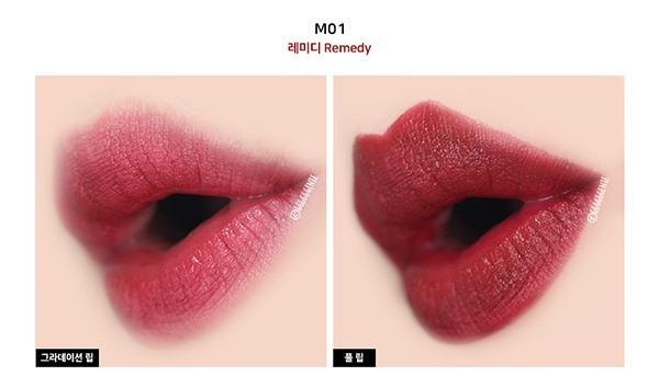 Son Lì Bền Màu Và Dưỡng Ẩm Cho Môi Unny Club Black Square Lipstick
