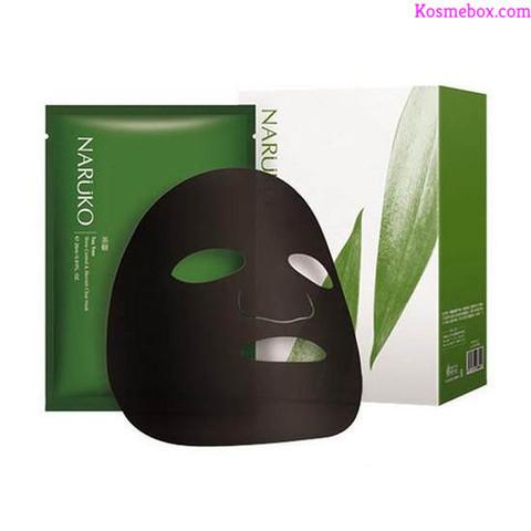 Mặt NạKiểm Soát Dầu Và Mụn Chiết XuấtTinh ChấtTràm Trà Naruko Mask Sheet Tea Tree