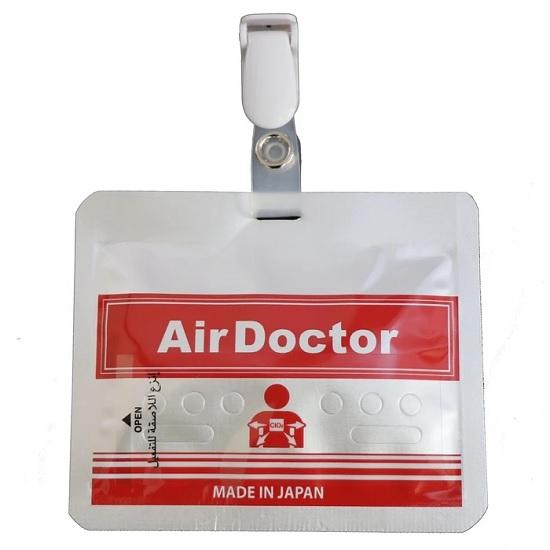 Hình ảnh thưc tế Thẻ Đeo Di Động Air Doctor Diệt Khuẩn Và Virus