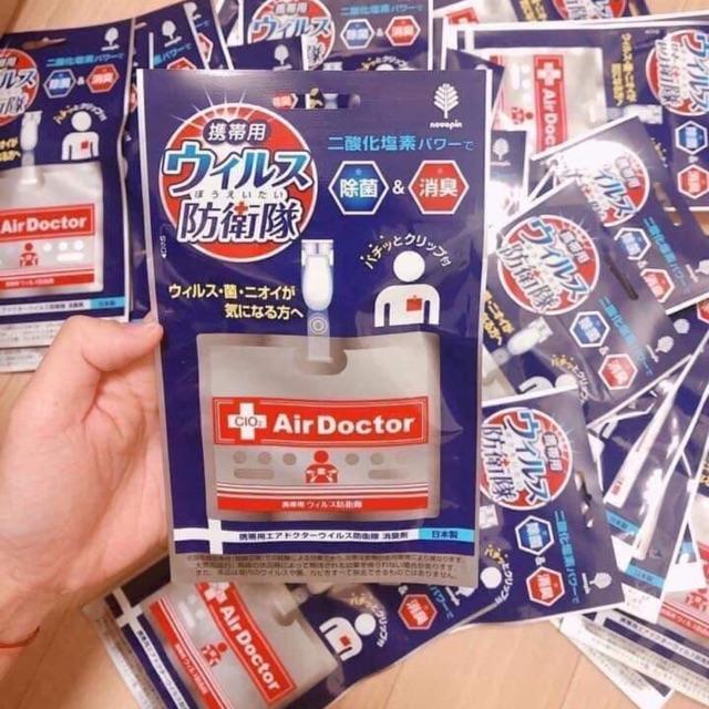 Ảnh thực tế Thẻ Đeo Di Động Air Doctor Diệt Khuẩn Và Virus